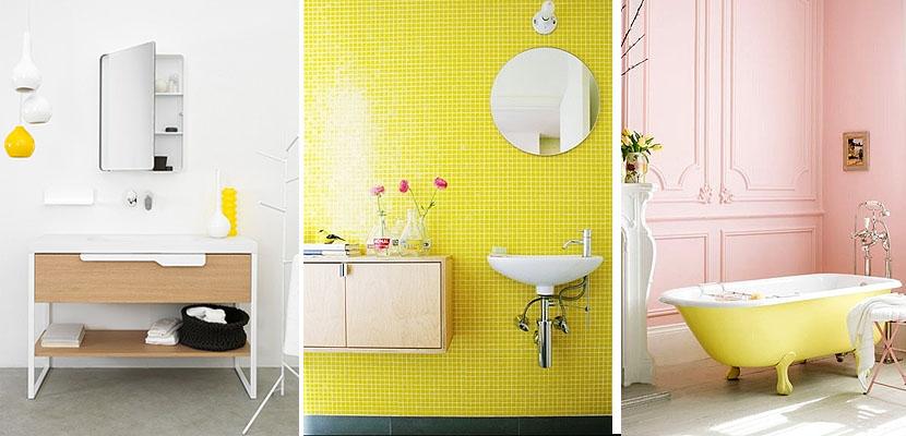 Hacer Del Baño Color Amarillo ~ Dikidu.com