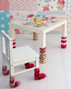 mesa infantil diy