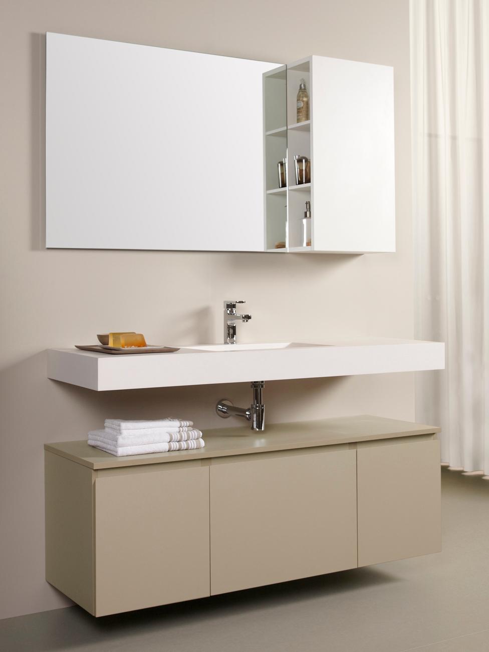 Muebles de ba o doble lavabo for Muebles de bano kyrya