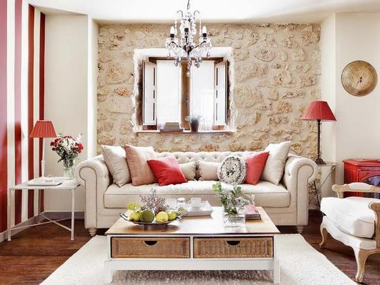 Decoracion de interiores salones good una casa moderna y for Decoracion de interiores salones